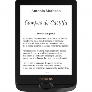 eBook Pocketbook Basic Lux2 - Negro