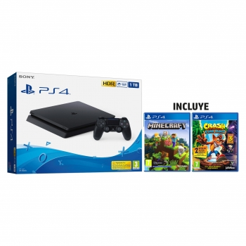 PS4 1Tb + Minecraft + Crash Bandicoot N-Sane Trilogy