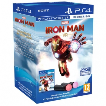 Marvel's Iron Man VR para PS4 + 2 PlayStation Move Motion Controller