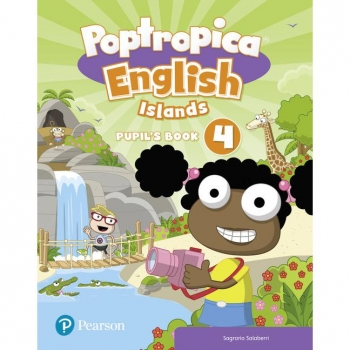 POPTROPICA ENGLISH ISLANDS LEVEL 4 PUPIL´S BOOK AND ONLINE WORLD ACCESSCODE PEARSON DISTRIBUCION