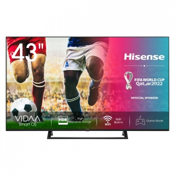 "TV LED 109,22 cm (43"") Hisense 43A7300F, 4K UHD, Smart TV"