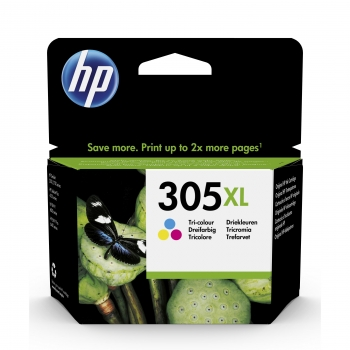 Cartucho de Tinta HP 305XL - Tricolor