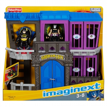 Imaginext DC Superfriends - Cárcel Gotham Batman y villanos