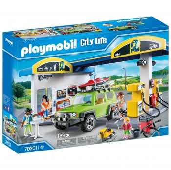 PLAYMOBIL City life - Gasolinera