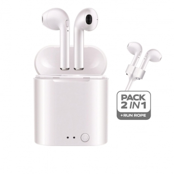 Auriculares Deportivos Soundair con Bluetooth - Blanco