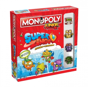 Monopoly Junior Superzings
