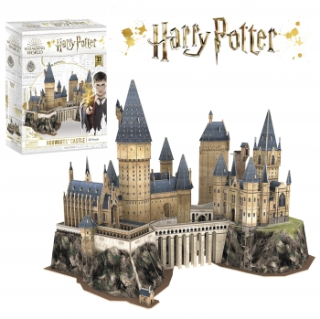 Harry Potter - Puzzle 3D Castillo Harry Potter