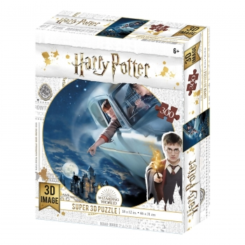 Harry Potter Ford Anglia - Puzzle 3D