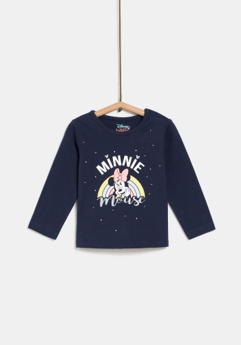 Camiseta manga larga estampada para Bebé de Minnie Mouse DISNEY