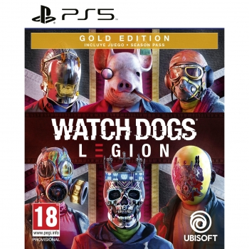 Watch Dogs Legion Gold Edition para PS5