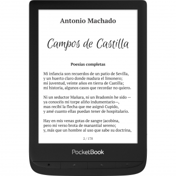 E-Book PocketBook Touch Lux 5 - Negro