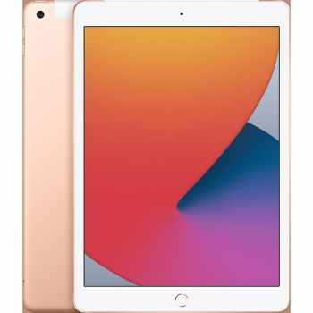iPad 2020 25,91 cm - 10,2'' con Wi-Fi y Cellular 32GB Apple - Oro