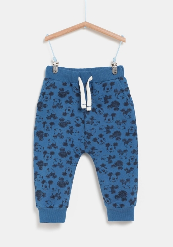 Pantalón largo jogging estampado para Bebé  MICKEY MOUSE