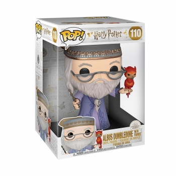 Figura Funko Pop! Harry Potter - DumbledoreW/Fawkes 10""