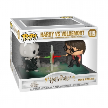 Figura Funko Pop! Moment: Harry Potter - Harry VS Voldemort