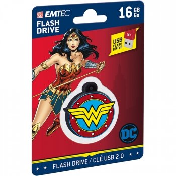 Memoria USB EMTEC Wonder Woman 16GB