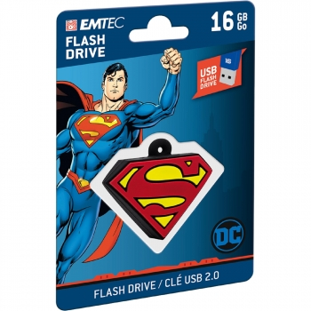 Memoria USB EMTEC Superman 16GB