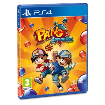 Pang Adventures Buster Edition para PS4