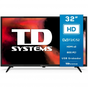 TV LED 81,28 cm (32) TD Systems K32DLK12H, HD