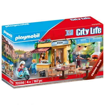 Playmobil- Pizzería City Life