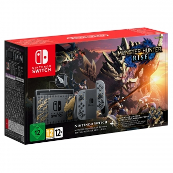 Nintendo Switch Monster Hunter Rise Edición Limitada