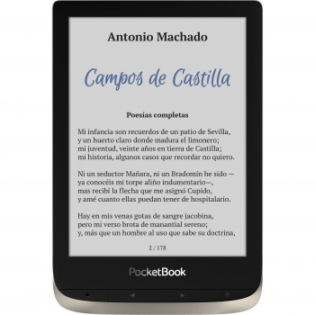 eBook PocketBook Color 16GB con Wifi Moon Silver