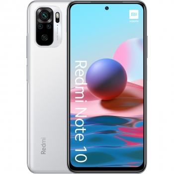 Móvil Xiaomi Redmi Note 10, 4GB de RAM + 128GB - Blanco