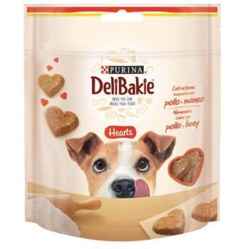 Snacks para Perro Purina Delibakie Hearts 100 gr