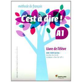 Libros de texto Francés 1º Bachillerato Santillana