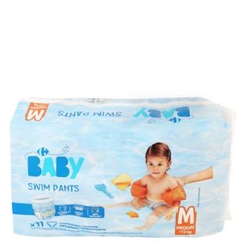 db0af874d Pañales Bañador Carrefour Baby Talla 5 +12 kg 11 uds