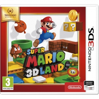 Super Mario 3D Land Selects para 3DS