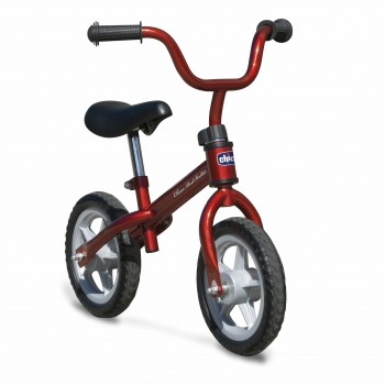 Bicicleta sin pedales Chicco First Bike Roja