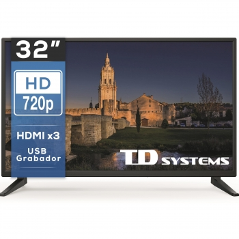 TV LED 81,28 cm (32'') TD Systems 32DLM7H, HD Ready