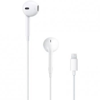 Auriculares Apple EarPods con conector Lightning - Blanco