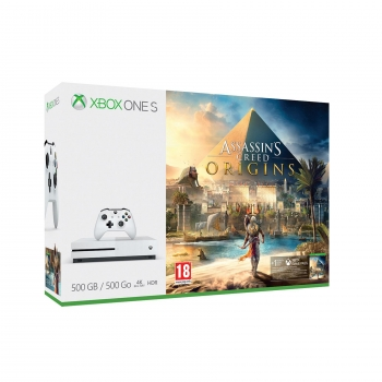 Xbox One S 500gb Assassin´s Creed: Origins - Blanco