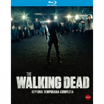 The Walking Dead Séptima Temporada Blu - Ray