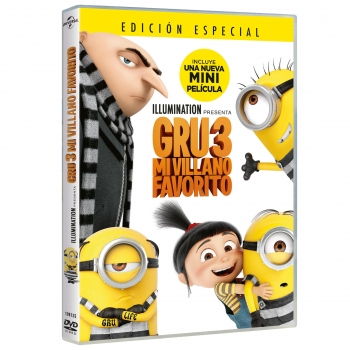Gru 3 Mi Villano Favorito(Dvd)