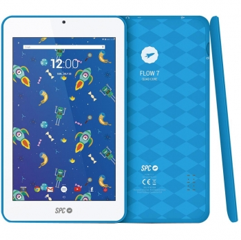 "Tablet SPC Flow 7 con Quad Core, 1GB, 8GB, 17,78 cm - 7"" - Azul"