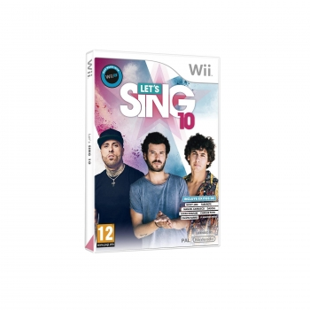 Lets Sing 10 para Wii