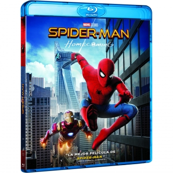 Spider - Man: Home Coming. Blu Ray