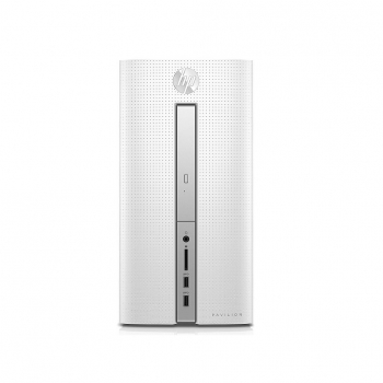 CPU HP Pavilion Desktop PC 570-p037ns con A10, 12GB, R5 435 2GB, 1TB. Outlet. Producto Reacondicionado