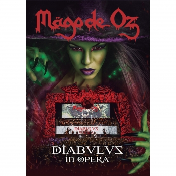 Diabulus In Opera. MAGO DE OZ. CD+DVD