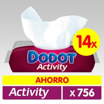 Toallitas Activity DODOT 756 Uds