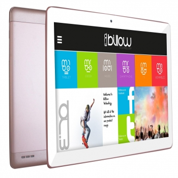 "Tablet Billow X103P 3G con Quad Core, 1GB, 16GB, 25,65 cm - 10,1"" - Rosa"
