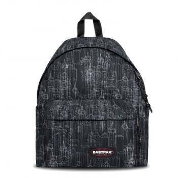 Mochila Eastpak Padded Pak`r Backpack Negra Blocks