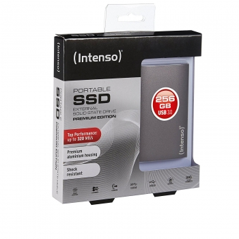 Disco Duro Externo SSD Intenso 256GB