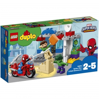 Lego - Spider-Man & Hulk Adventures