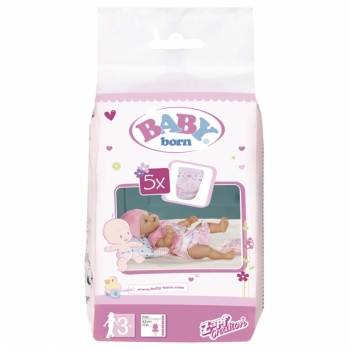 Baby Born - Pack Pañales