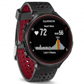 d2ac93344db7 Reloj Pulsómetro Garmin Forerunner 235 - Negro y Rojo