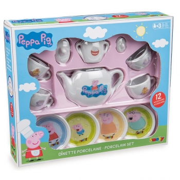 Peppa Pig - Set de Porcelana Peppa Pig Colores